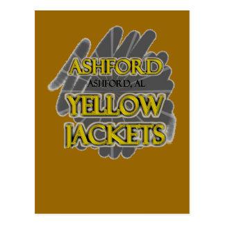 Ashfordの高等学校の救命ジャケツ- AshfordのAL ポストカード