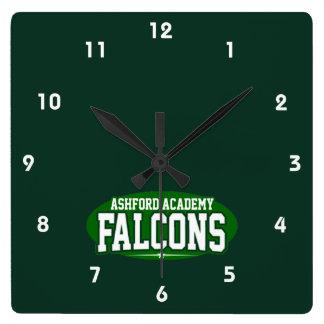 Ashfordアカデミーの高等学校; 《鳥》ハヤブサ スクエア壁時計