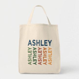 Ashleyのかわいいカラフル トートバッグ