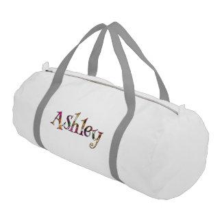 Ashleyのカラフルなおもしろい ジムバッグ