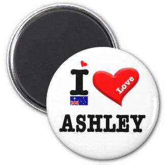 ASHLEY -私は愛します マグネット