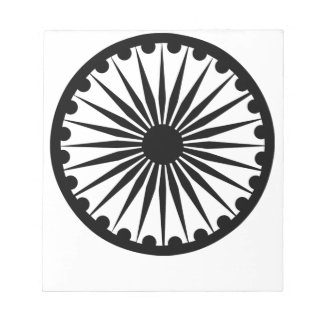 Ashokaのチャクラ ノートパッド