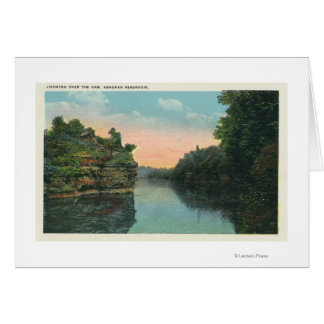 Ashokanの貯蔵所のダムに見ること カード