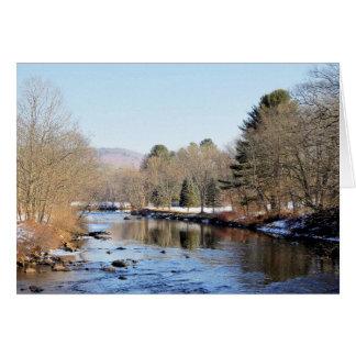 Ashuelot River Scene カード