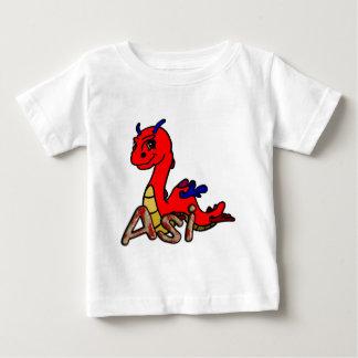 Asi (名前と) ベビーTシャツ