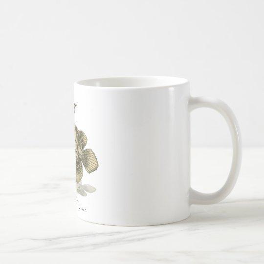 Asian arowana - plain コーヒーマグカップ