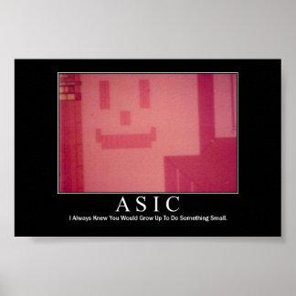 ASICの刺激 ポスター