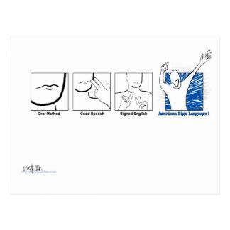 ASL Genki! ポストカード