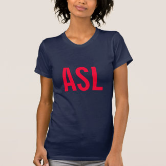 ASL Tシャツ