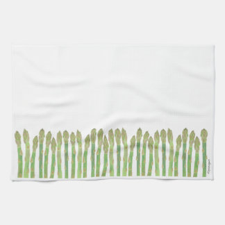 Asparagus Kitchen Towel キッチンタオル