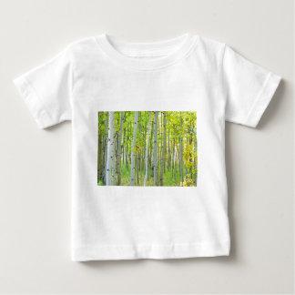 aspen_trees_autumn_time.jpg ベビーTシャツ