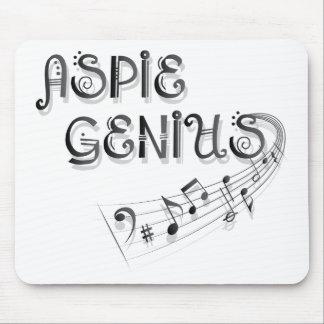 Aspieの天才-音楽 マウスパッド