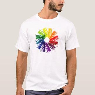 Aspleniaのカラーホイール Tシャツ