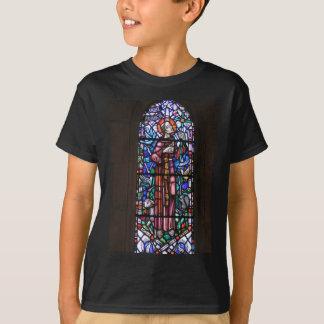 AssisiのステンドグラスのSt. Francis Tシャツ