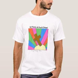 Assisiの学校TのSt. Francis Tシャツ