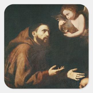 AssisiのSt Francisの視野 スクエアシール
