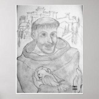 AssisiのSt. Francis ポスター