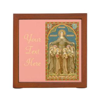 Assisi及び尼僧(SAU 27)のSt.ドクレア ペンスタンド