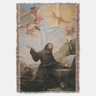 Assisi -サンフランシスコde Asis 24のSt. Francis スローブランケット