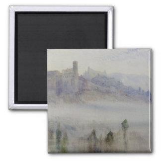 Assisi、早朝 マグネット