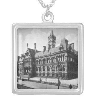 Assize裁判所、マンチェスター、c.1910 シルバープレートネックレス