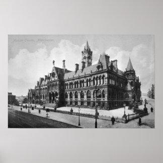 Assize裁判所、マンチェスター、c.1910 ポスター