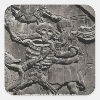 Assoc。 墓石の勉強の スクエアシール