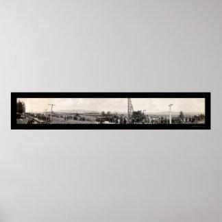 Astoriaの建築の写真1914年 ポスター