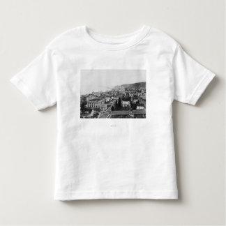 Astoriaの鳥瞰的な眺め、か写真 トドラーTシャツ