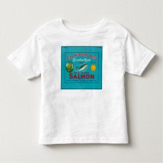 AstoriaのOregonGillの網打ちする人BestAstoria、または トドラーTシャツ