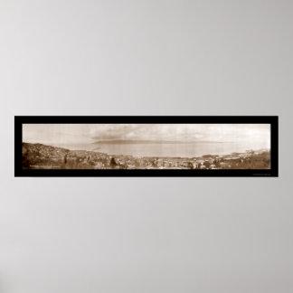 Astoria、かコロンビアの写真1912年 ポスター