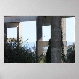 Astoria-Megler橋 ポスター