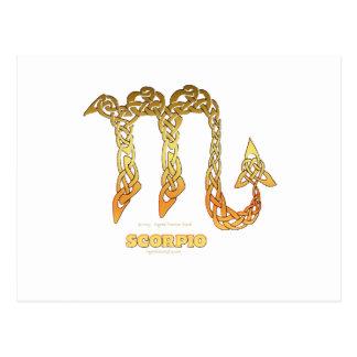 Astroceltシリーズ蠍座 ポストカード
