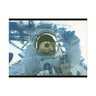 Astronaut_Space キャンバスプリント