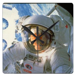 Astronaut_Space スクエア壁時計