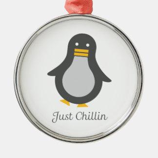 Asvのペンギン メタルオーナメント