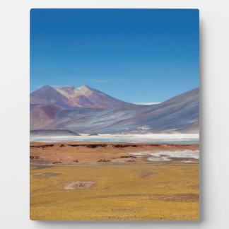 Atacamaの塩湖 フォトプラーク