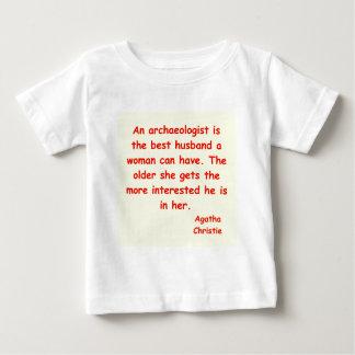 atchaeologistの夫 ベビーTシャツ