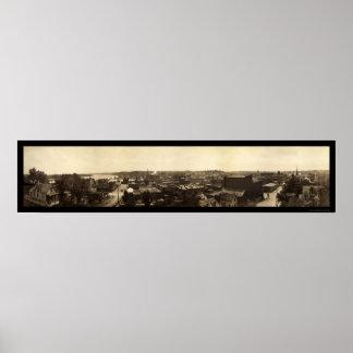 Atchisonのカンザスの写真1909年 ポスター
