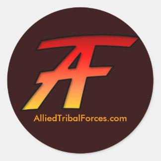 ATFのステッカー ラウンドシール