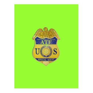 ATFアルコールタバコおよび火器 ポストカード