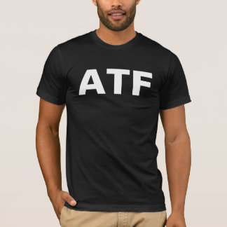 ATF -アルコールタバコ及び火器 Tシャツ
