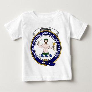 (Athole)のマレーの一族は記章を付けます ベビーTシャツ