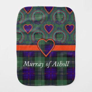 Athollの一族の格子縞のスコットランドのキルトのタータンチェックのマレー バープクロス