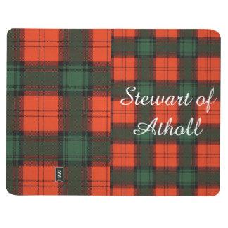 Athollの一族の格子縞のスコットランド人のタータンチェックのステュワート ポケットジャーナル