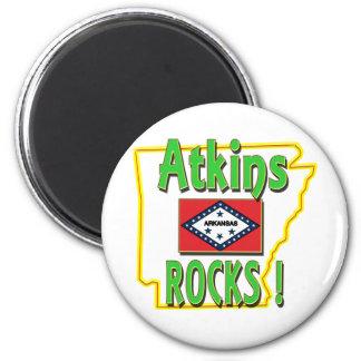 Atkinsの石! (緑) マグネット