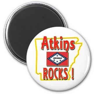 Atkinsの石! (赤) マグネット