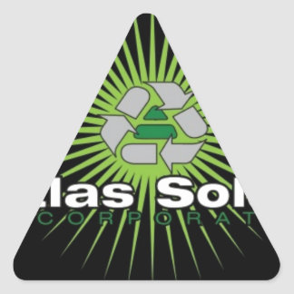 Atlas Solar Inc. 三角形シール