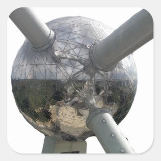 Atomiumの大きい球 スクエアシール