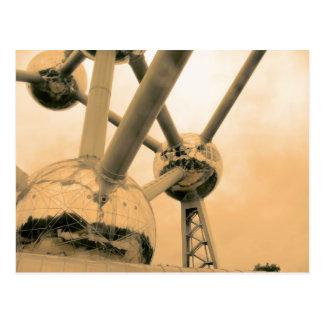 Atomiumブリュッセル ポストカード